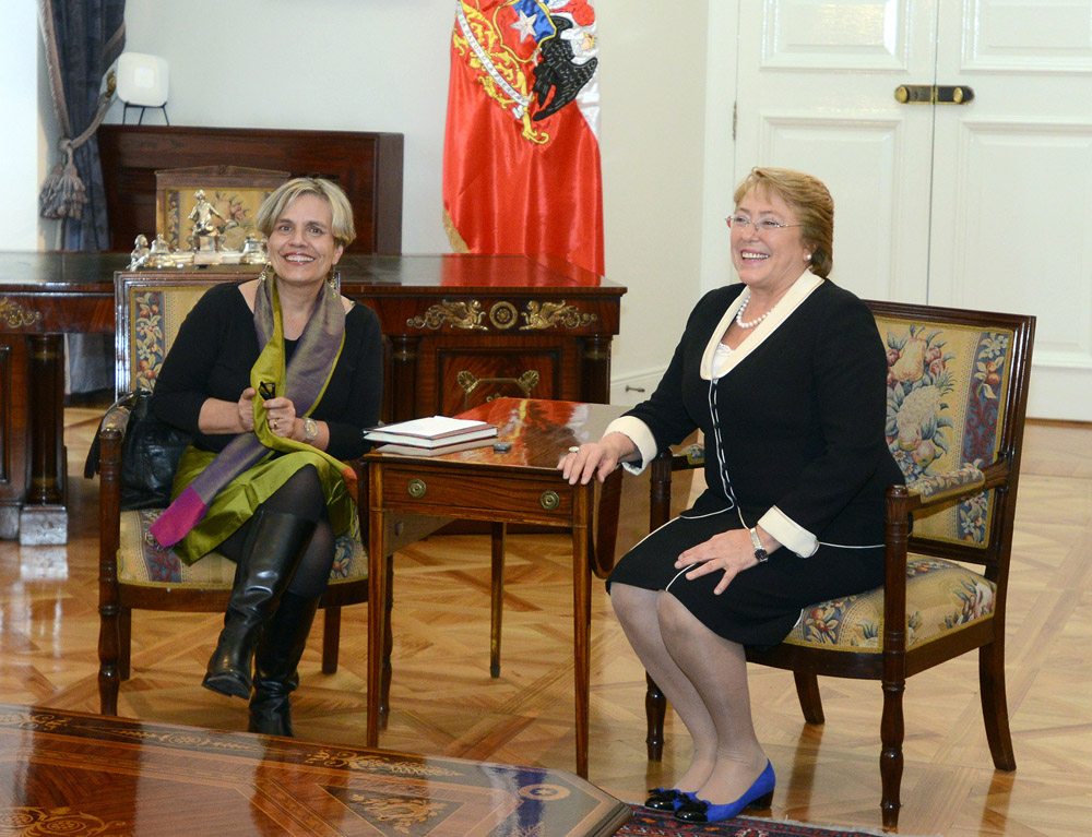 Foto Presidenta Bachelet - Lorena Fries (copia)